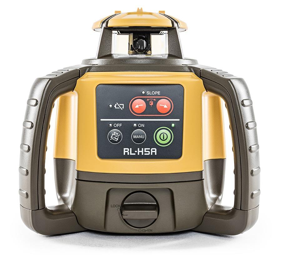 Topcon Rl H5a Long Range Rotating Laser Level Smith Surveying