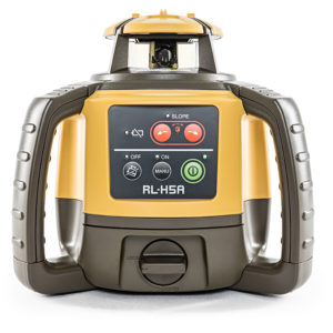TOPCON RL-H5A LONG RANGE ROTATING LASER LEVEL